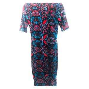 Lularoe floral print dress size XXS